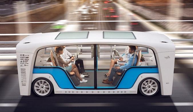 """Rinspeed公司展示可""""热插拔""""更换车体概念车"""
