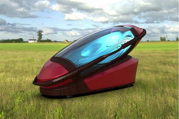 科幻3D打印装备:人躺入后吸氮气被安乐死