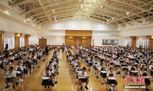 图为雅加达-HSK6级考试现场