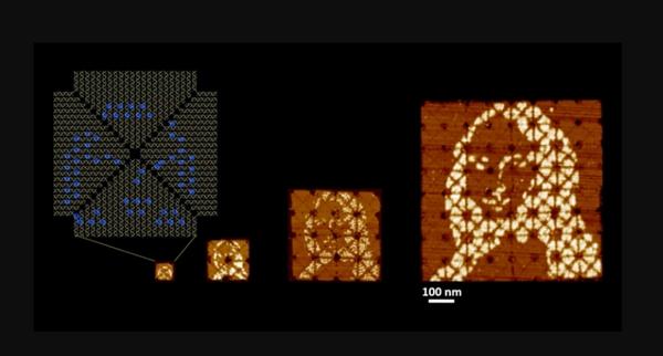 DNA技术绘制最小《蒙娜丽莎》画作 宽度100纳米