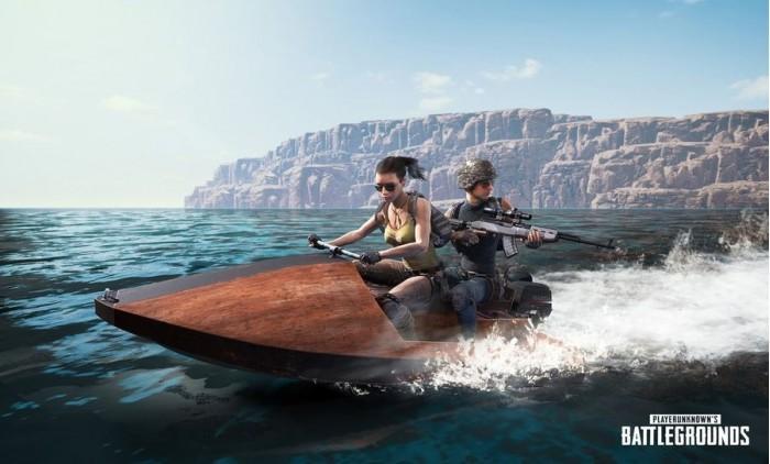 《绝地求生》新载具摩托艇公布:双人乘坐