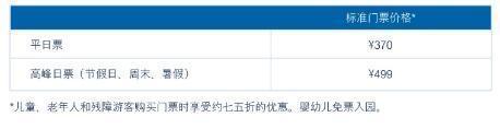 上海迪士尼明年6月6日起门票涨价:平日价格399元
