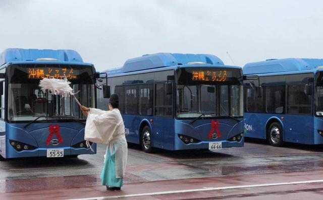 纯电动巴士出口日本:中国方案正成为世界方案