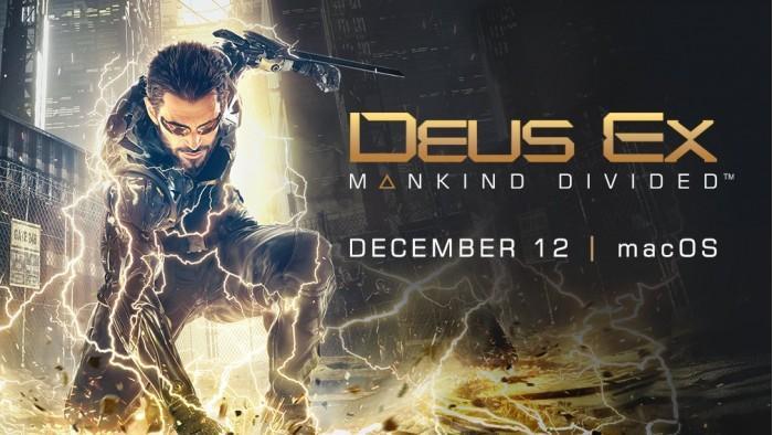 《杀出重围:人类分裂》macOS版12月12日发售