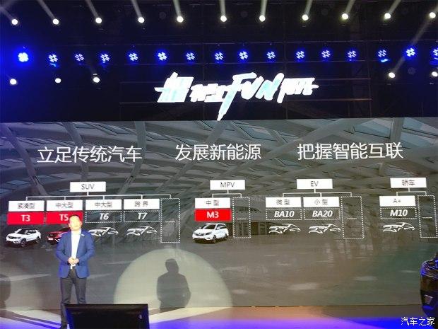 2018年将推3款新车 比速新产品计划发布