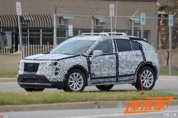 全新紧凑型SUV 凯迪拉克XT4最新谍照