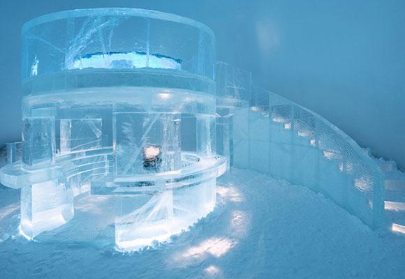 全球最冷酒店!探访北极圈内的冰酒店