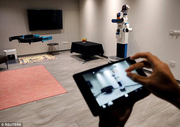 新加坡研发无人机:自动锁定拍摄对象