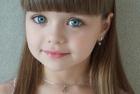 俄六岁小模特被赞最美女孩