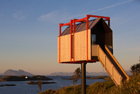 艺术家在北极小岛建度假屋