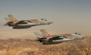 以色列列装F-35隐形机 除美国外第一个正式列装