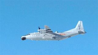 中国海军舰机齐出日派机跟踪