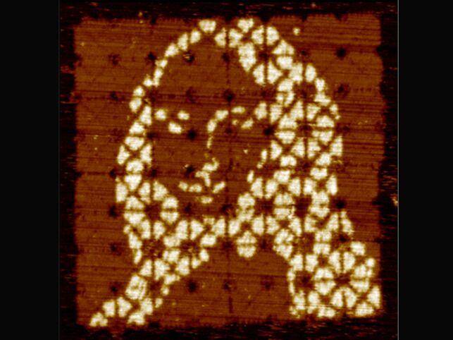 DNA折纸术绘制出全球最小《蒙娜丽莎》画作