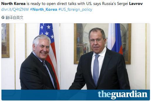 刚刚,朝鲜通过俄向美国传话!希望直接对话