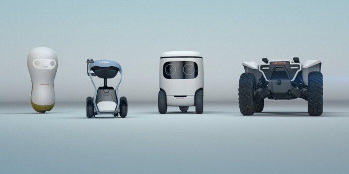 本田推出呆萌概念机器人系列 明年1月CES展亮相
