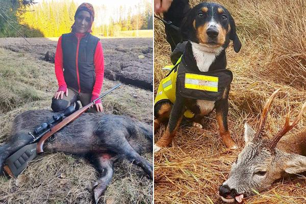 瑞典女教师化身猎人疯狂狩猎引争议