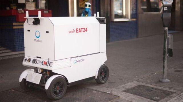 会欺负行人?旧金山出台政策限制快递机器人上路