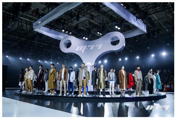 黄晓明、张帅服装品牌M-77助推中国服装设计