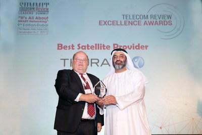 Thuraya荣获《Telecom Review》年度最佳卫星运营商奖