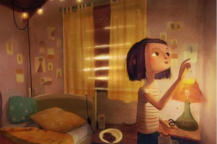尼尔盖曼绘本《墙壁里的狼》改编VR体验版将亮相