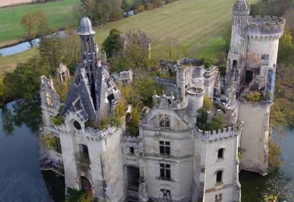 花51欧元实现城堡梦 法国6500人众筹购城堡