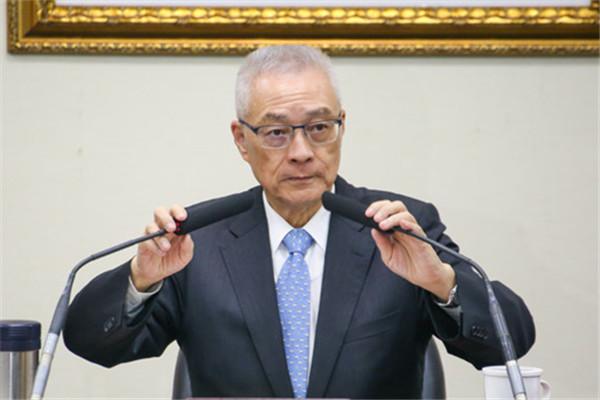 吴敦义:两岸僵局还是要靠国民党才能解决