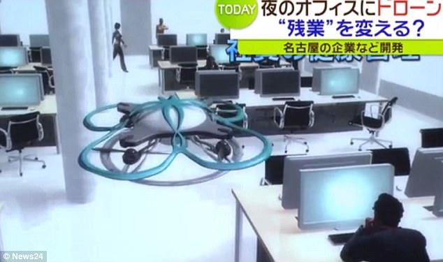"""日本公司拟用无人机催加班员工回家 专家却说""""愚蠢""""!"""