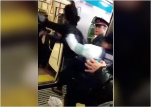 日右翼媒体:谁在电车里殴打中国人?绝不是日本人