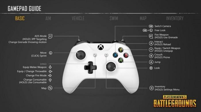 《绝地求生》Xbox解锁时间公布 按键设置曝光