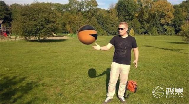 反重力还能潜水的无人机 蠢萌球形设计