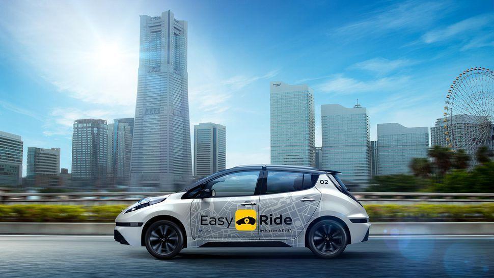 日产汽车宣布2018年公开试验自动驾驶出租车服务