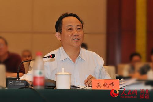 推进制造强省 建设现代化工业体系 河北省工业和信息化厅党组书记、厅长 龚晓峰