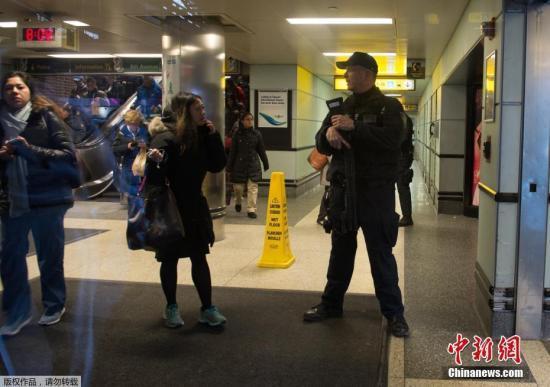 纽约地铁爆炸案仅有嫌犯一人受伤 疑为恐怖袭击