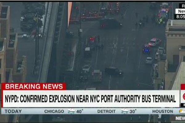 纽约曼哈顿发生恐袭爆炸 至少1人被捕多人伤
