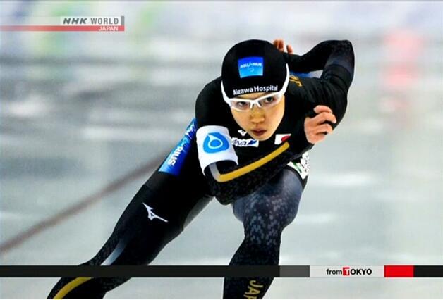 日本速滑选手小平奈绪打破女子1000米世界纪录