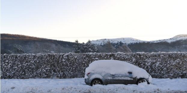 狂风大雪肆虐西欧多国 英德法遭受巨大影响