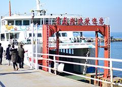 青黄轮渡仅剩一艘船坚守 曾经年运600万人