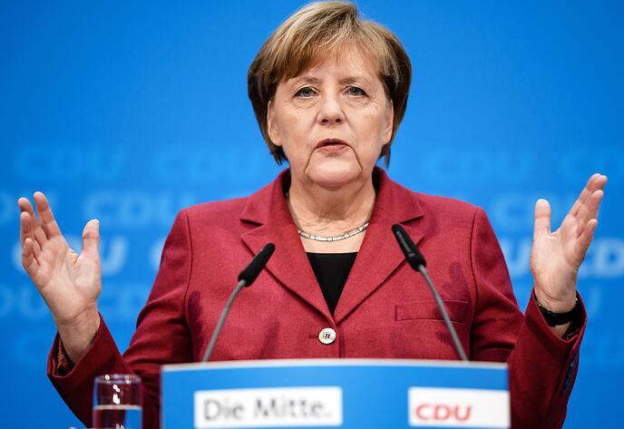 默克尔:俄罗斯正成为构建国际秩序的力量 欧盟应发挥作用