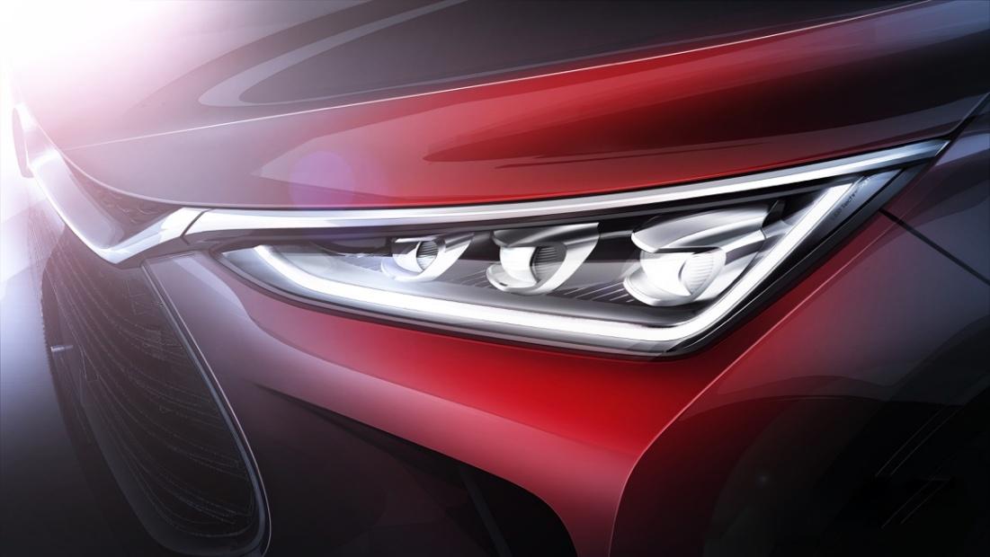 龙眼犀利 比亚迪发布全新一代SUV局部预告图