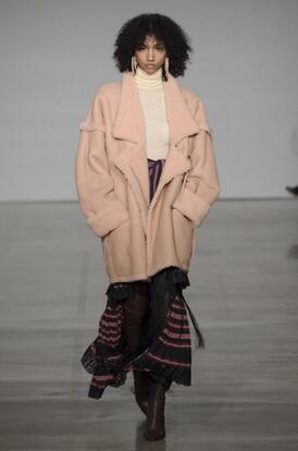 暖和的时尚 今冬流行毛呢外套大盘点