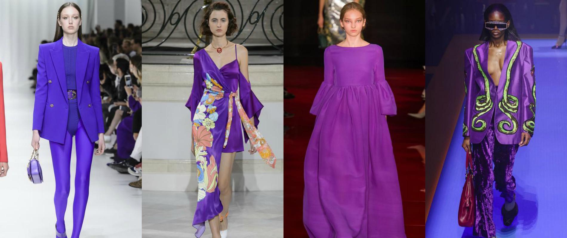 时尚早知道2018年流行色:那抹叛逆紫罗兰