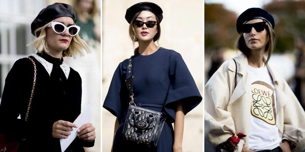 贝雷帽强势回归时尚圈 复古单品也可玩出新花样