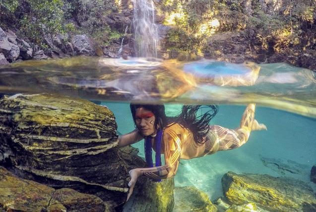 现代文明背后的世界:实拍巴西原始部落生活