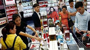 受惠中国出境游市场走强免税业务潜力巨大