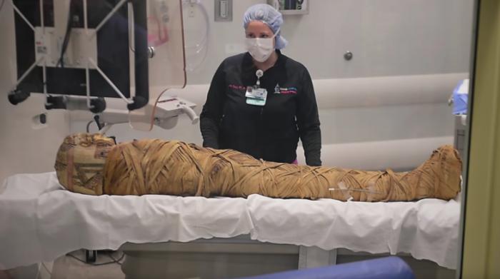 画风惊悚!两千多年前的木乃伊照CT查出患癌