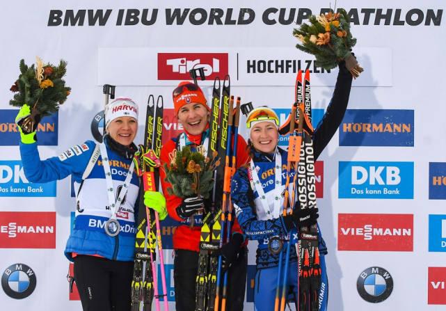 中国双姝仍需努力 冬季两项世界杯白俄名将夺冠