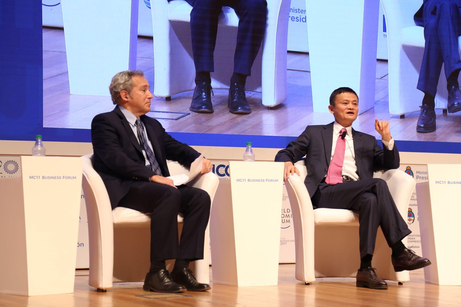 eWTP与WTO强强联手 马云:我的工作就是赋能普惠全球化