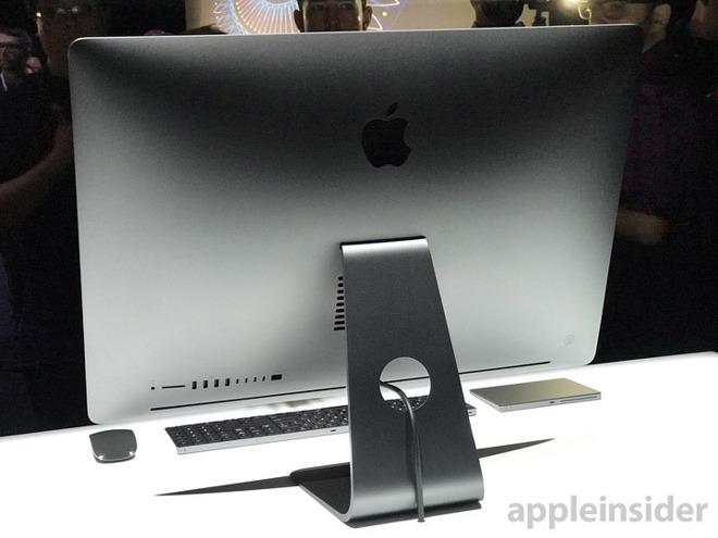 最强Mac电脑 工作站级别一体机iMac Pro发布