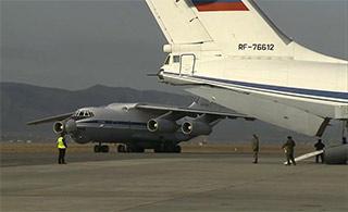 首批俄军从叙利亚凯旋