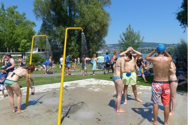 瑞士freestyle之万人横渡苏黎世湖